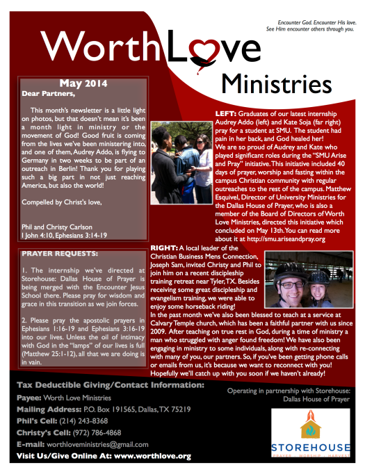 WLM May 2014 online newsletter