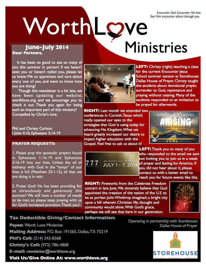 WLM newsletter - digital july 2014
