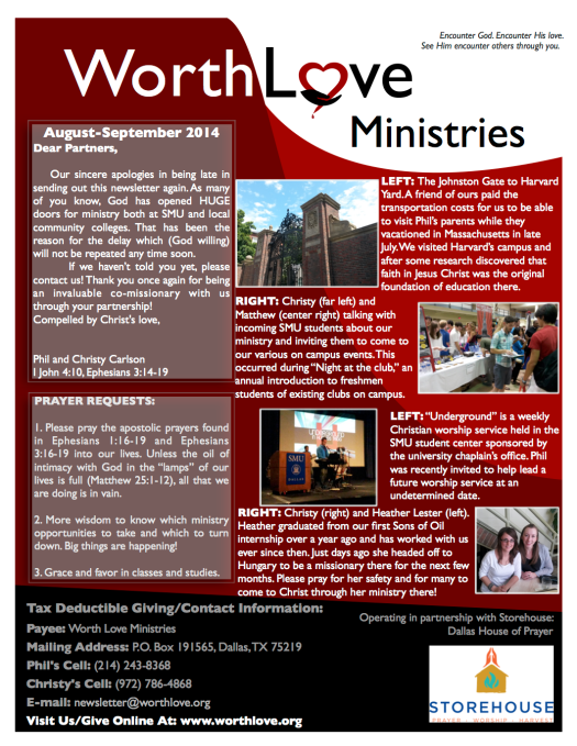 WLM newsletter
