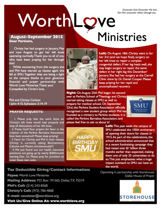 WLM newsletter Aug-Sep 2015